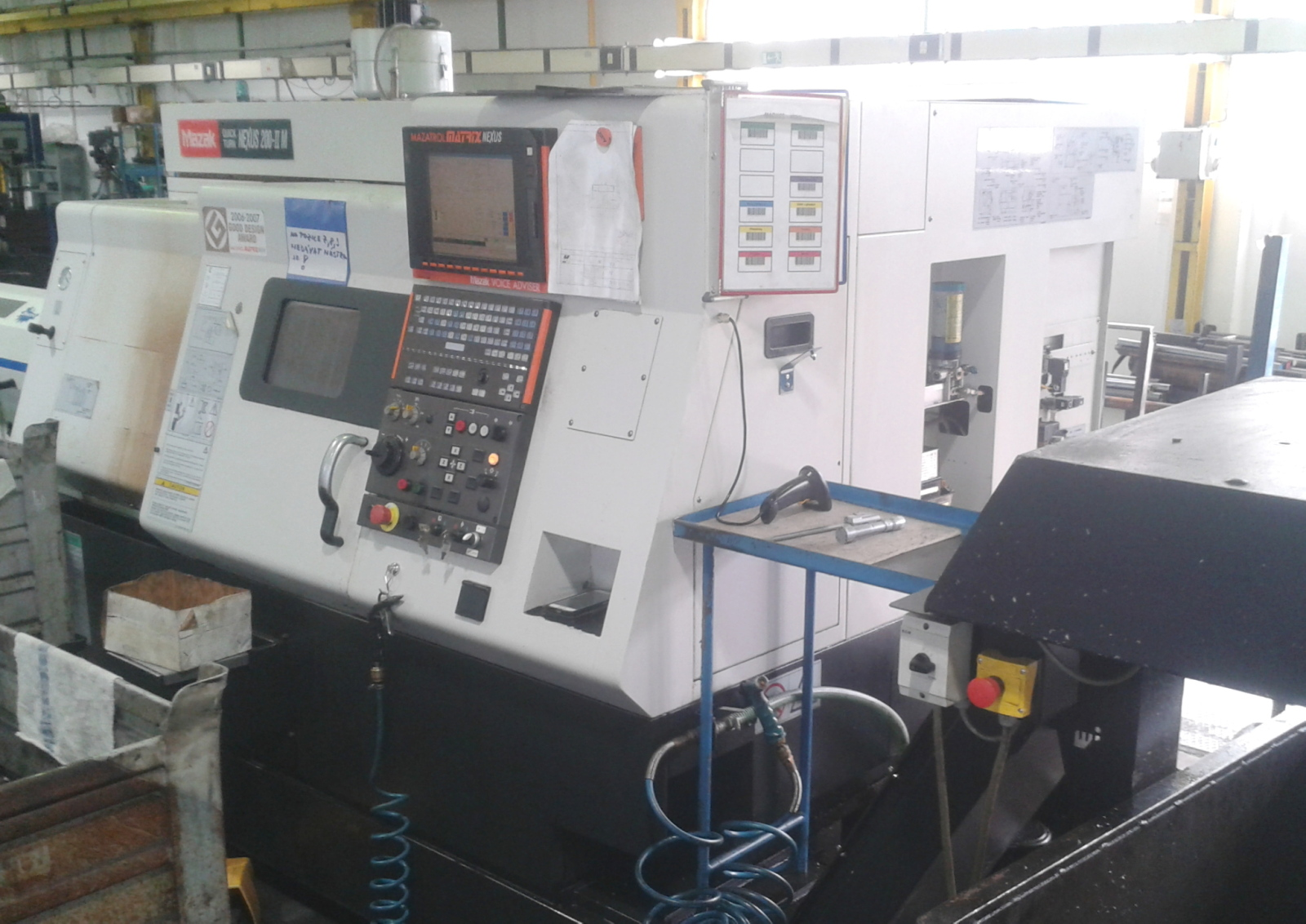CNC soustruh MAZAK QUICK TURN NEXUS - 200IIM