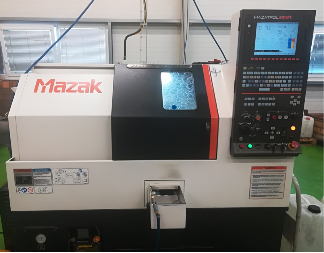 CNC soustruh Mazak Quick Turn Primos 150 S-Smart